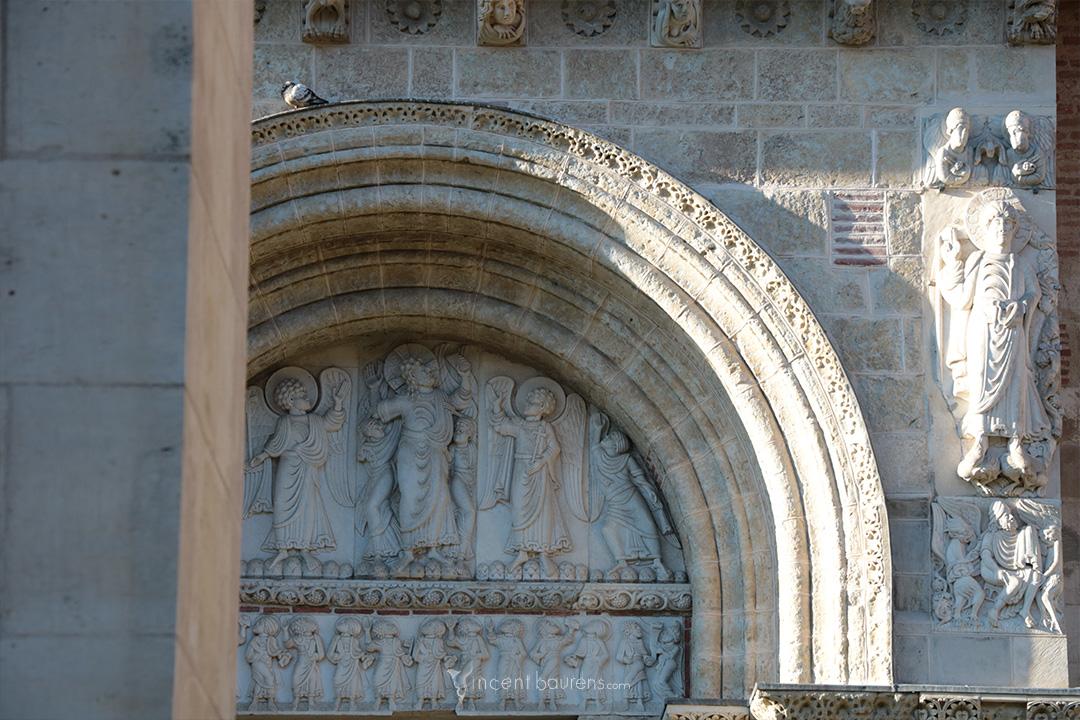 Tympan - Basilique Saint-Sernin - Tympan
