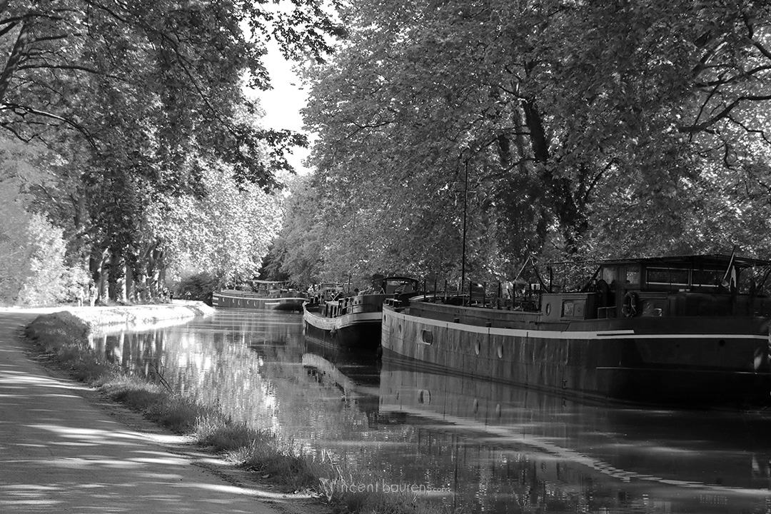 Péniches III - Canal du Midi - Toulouse