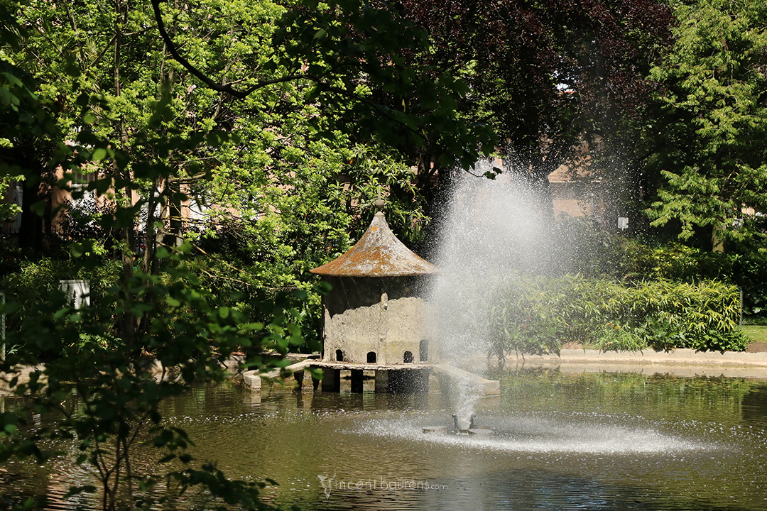 Fontaine - Jardin Royal